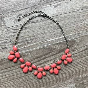 Ily Couture Pink Statement Necklace